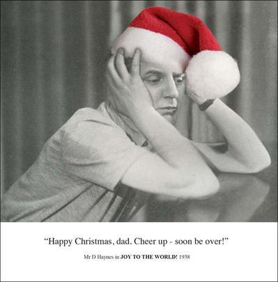 Cheer Up Dad Funny Christmas Greeting Card