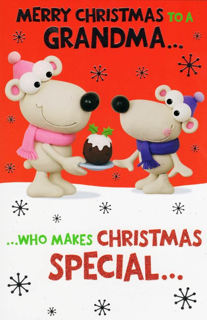Funny Merry Christmas.Merry Christmas Grandma Funny Christmas Card