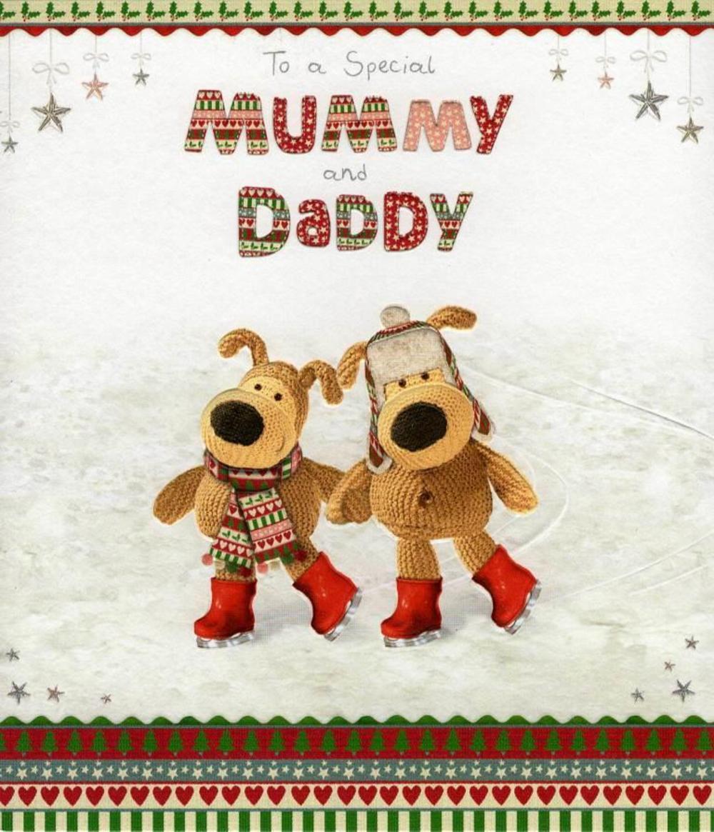 Boofle Mummy & Daddy Christmas Card
