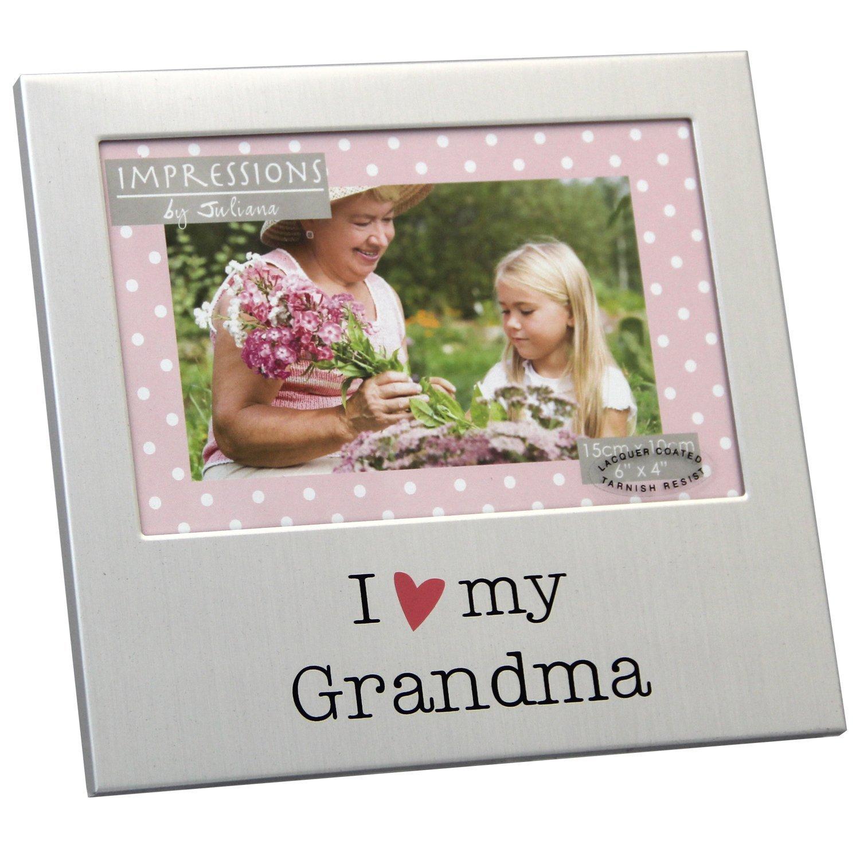 I Love My Grandma 6 X 4 Photo Frame Gifts Love Kates