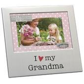 """I Love My Grandma 6"""" x 4"""" Photo Frame"""