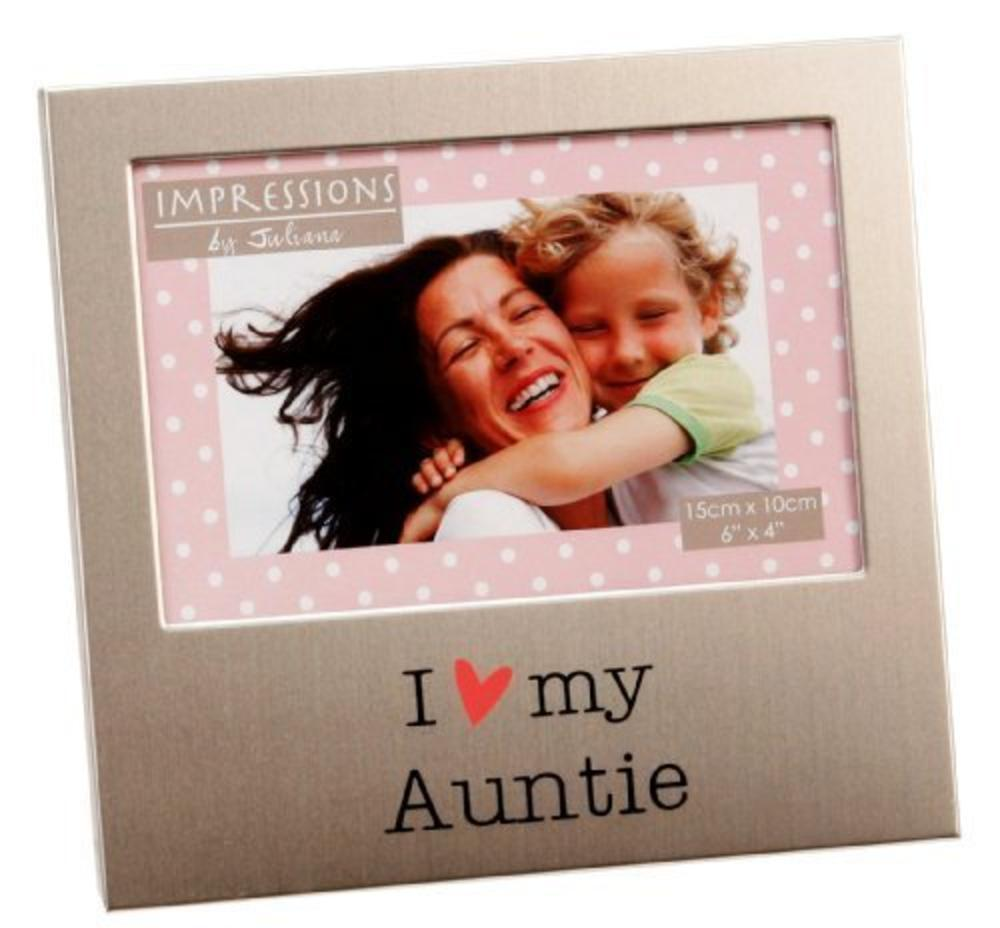 "I Love My Auntie 6"" x 4"" Photo Frame"