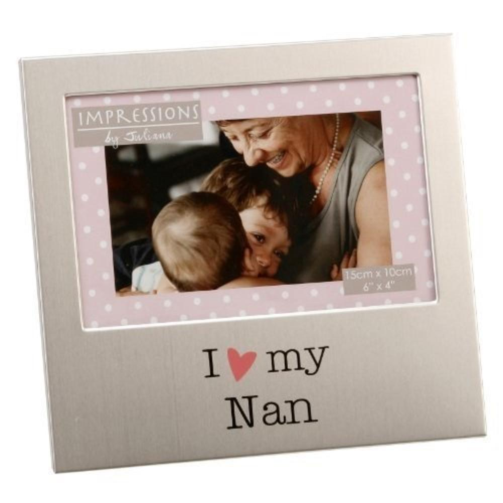"I Love My Nan 6"" x 4"" Photo Frame"