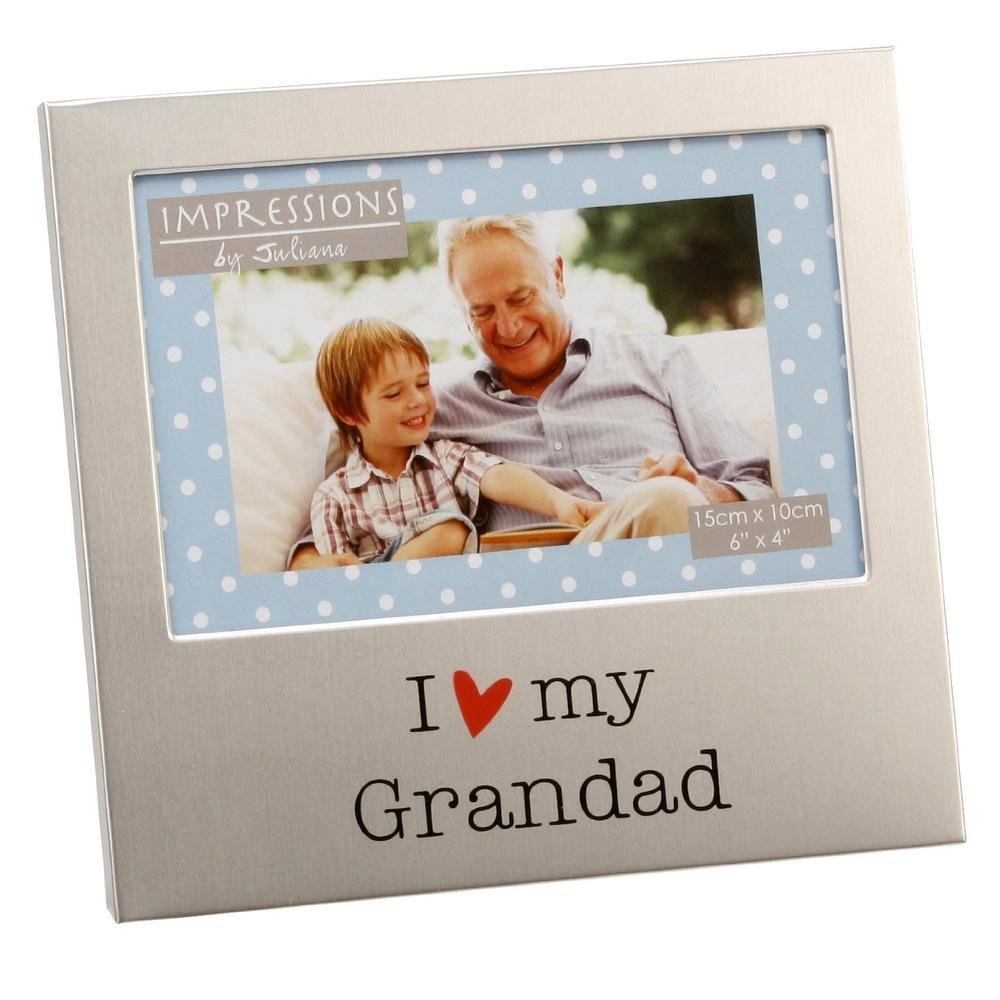 "I Love My Grandad 6"" x 4"" Photo Frame"