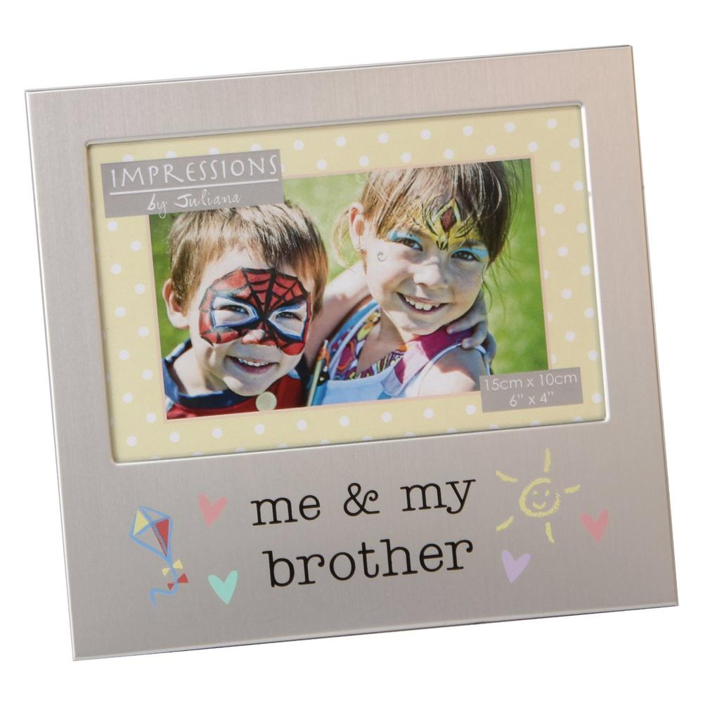 "Me & My Brother 6"" x 4"" Photo Frame"
