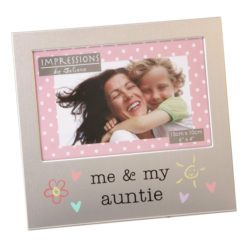 "Me & My Auntie 6"" x 4"" Photo Frame"