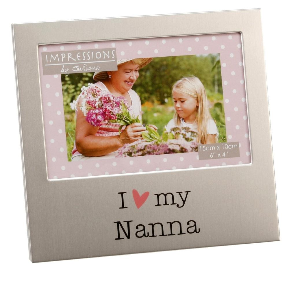 "I Love My Nanna 6"" x 4"" Photo Frame"
