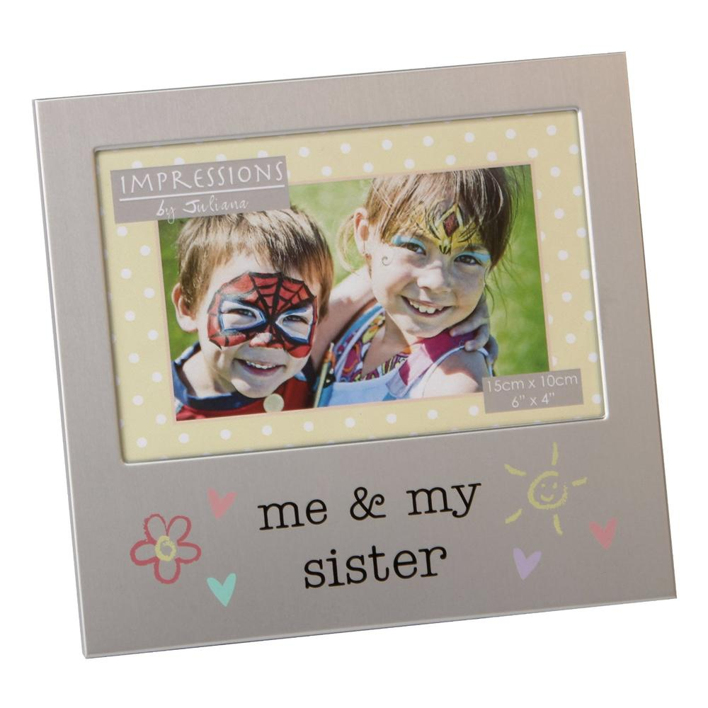 "Me & My Sister 6"" x 4"" Photo Frame"