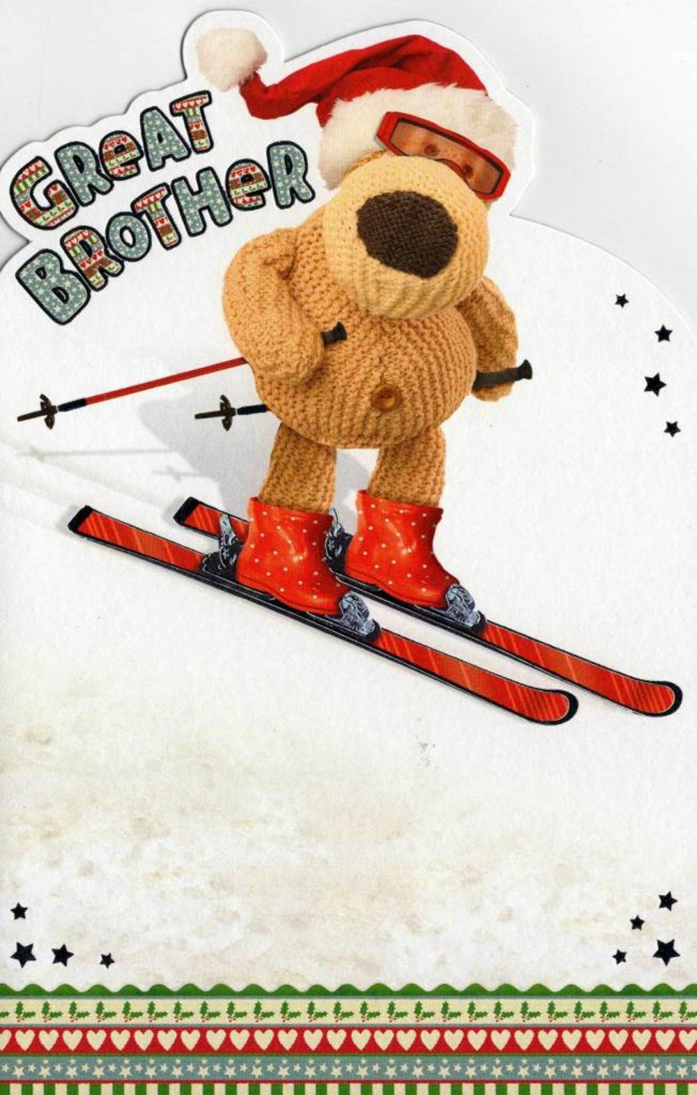 Boofle Great Brother Christmas Card
