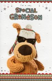 Boofle Special Grandson Christmas Card