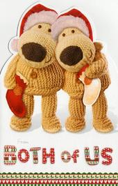 Boofle From Both Of Us Christmas Card