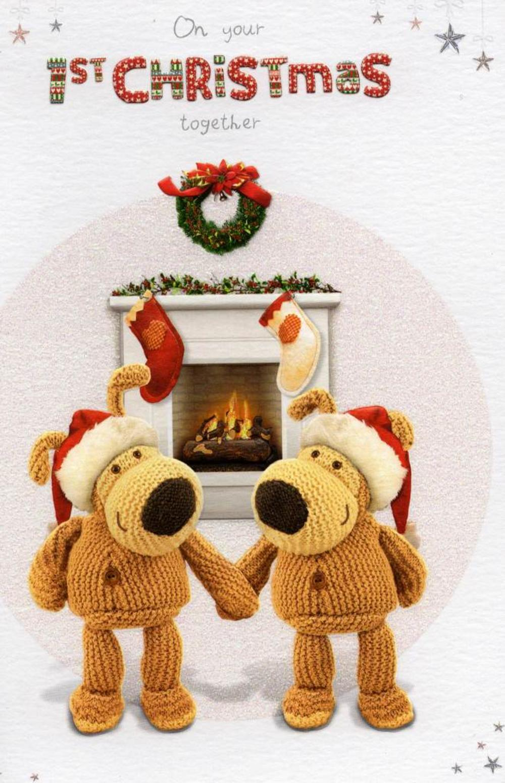 Boofle On Your 1st Christmas Together Card