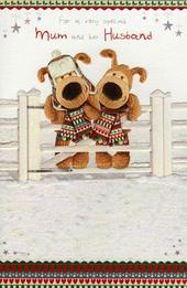 Boofle To Mum & Her Husband Christmas Card