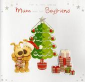Boofle To Mum & Her Boyfriend Christmas Card