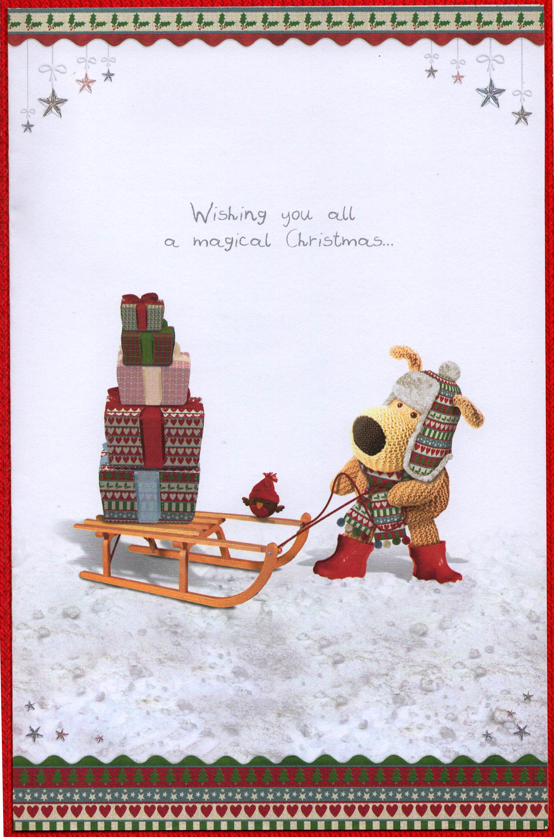 Boofle Daughter & Son-in-Law Christmas Card Lovely Xmas Greeting ...