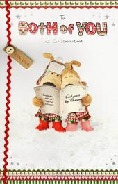 Boofle To Both Of You At Christmas Card