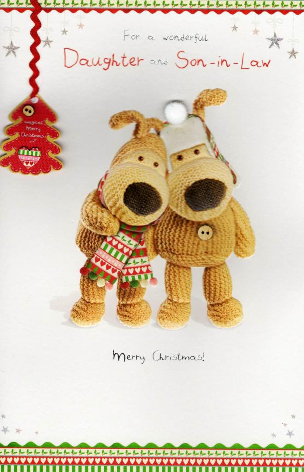 Boofle Daughter & Son-in-Law Christmas Card