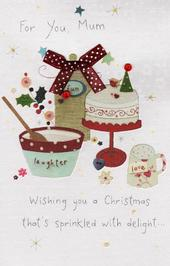 For You Mum Christmas Greeting Card