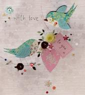 With Love To You Blank Greeting Card