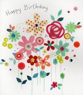 Happy Birthday Pretty Greeting Card