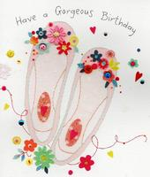 Have A Gorgeous Birthday Pretty Greeting Card