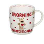 Boofle Morning Handsome China Mug In Gift Box