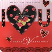 Someone Special I Love You Valentine's Day Card
