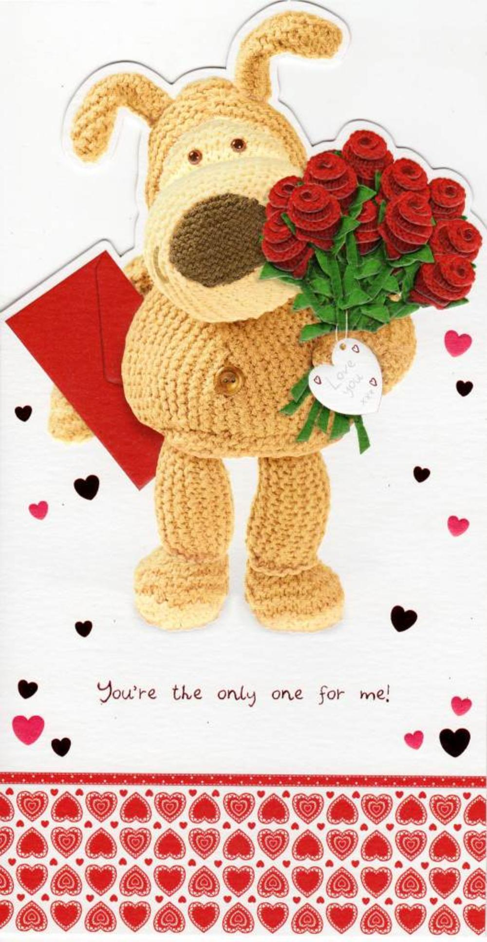 You're The Only One Boofle Valentine's Day Card