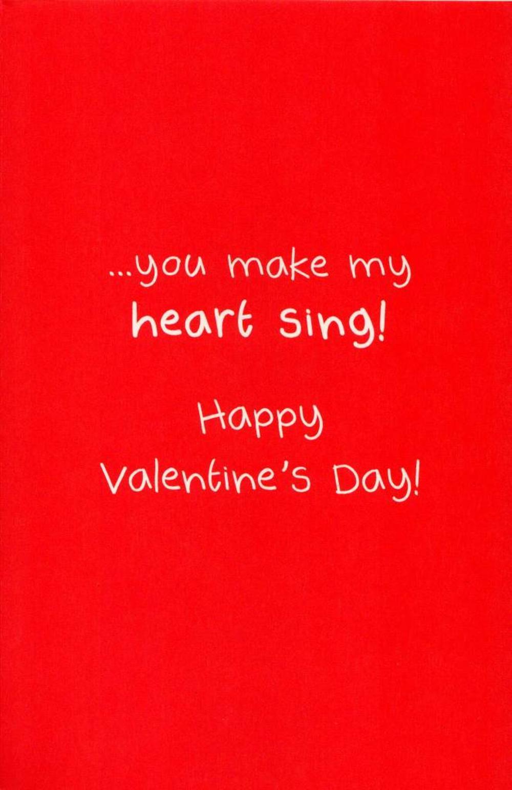 To My Boyfriend Wild Thing Happy Valentines Day Card  Cards