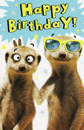 Funny Simples Happy Birthday Card