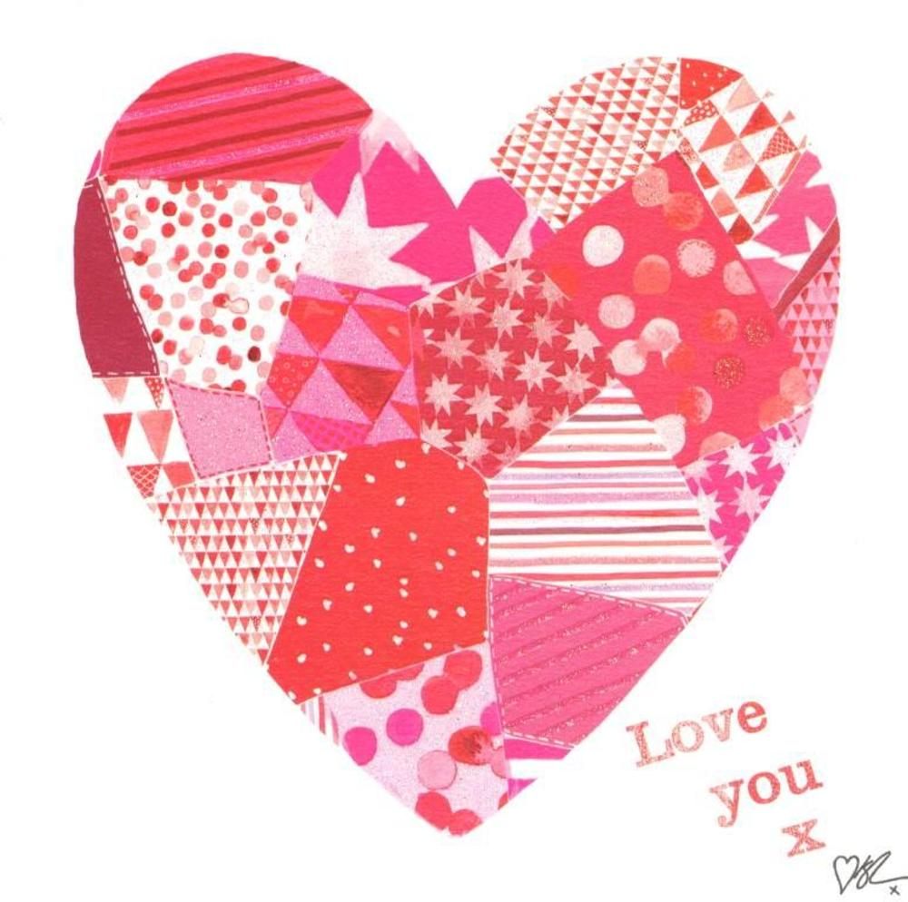 Kirstie Allsopp Love You Happy Valentine's Day Greeting Card