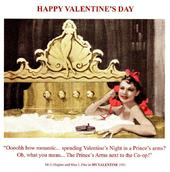 Funny Romantic Happy Valentine's Day Greeting Card