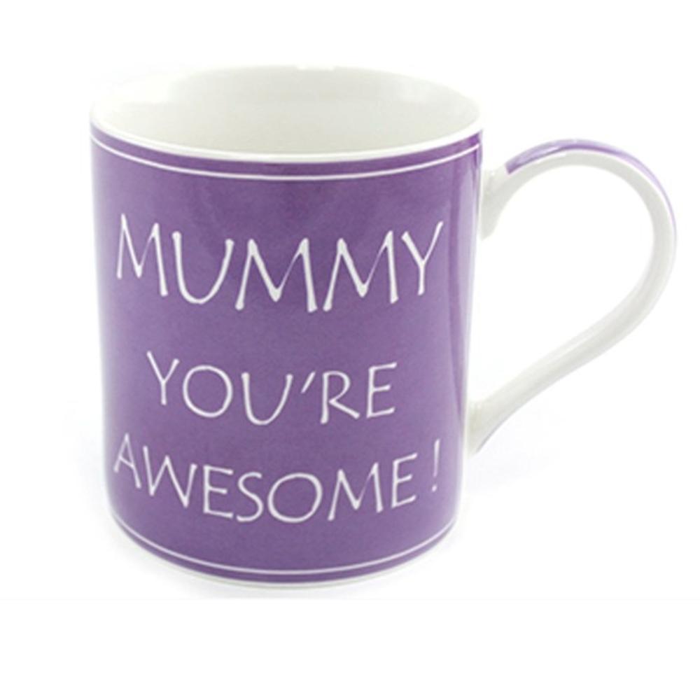 Mummy You're Awesome Fine China Mug in Gift Box