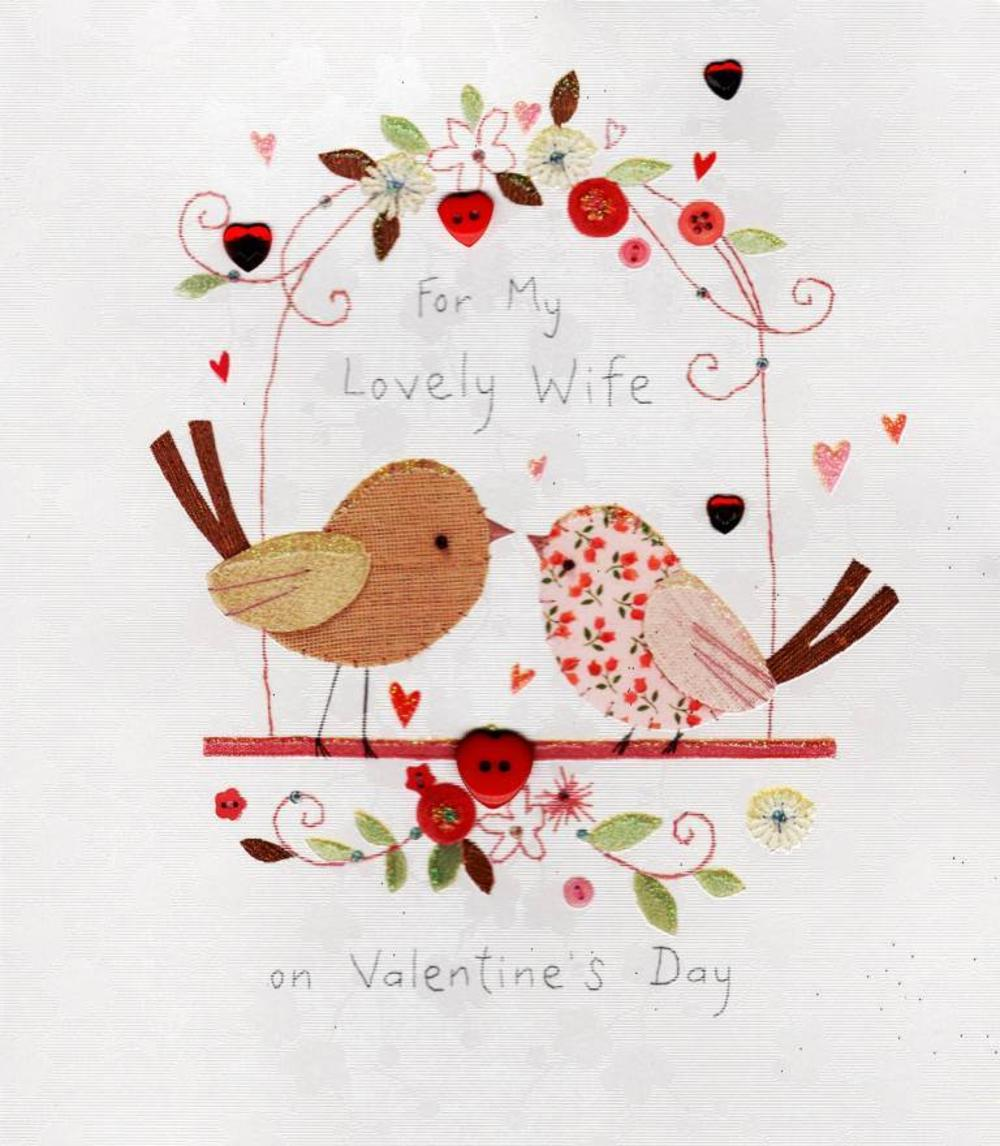 For My Wife Valentine's Day Greeting Card