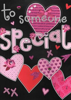 Large To Someone Special Valentine's Day Card
