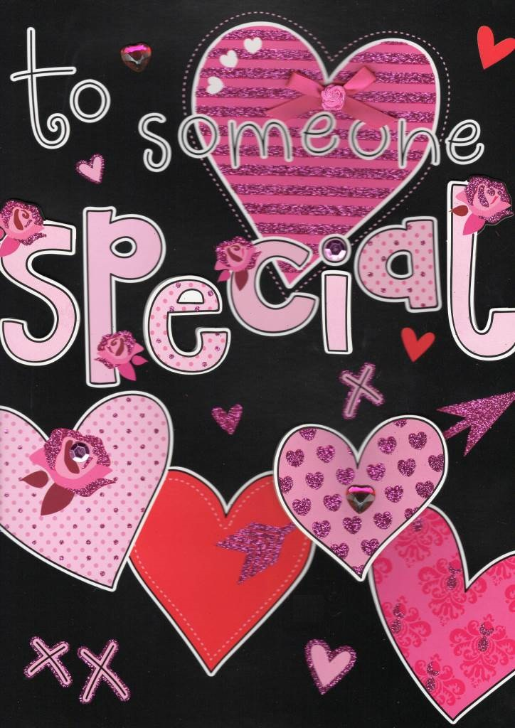 Large To Someone Special Valentines Day Card Cards – Special Valentine Cards