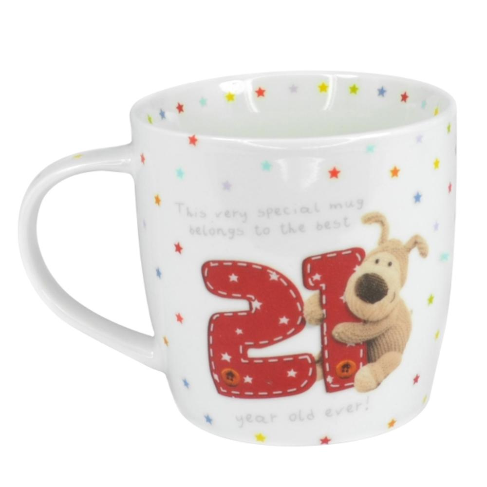 Boofle 21st Birthday Mug In A Gift Box