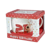 Boofle 21st Birthday Mug In A Gift Box