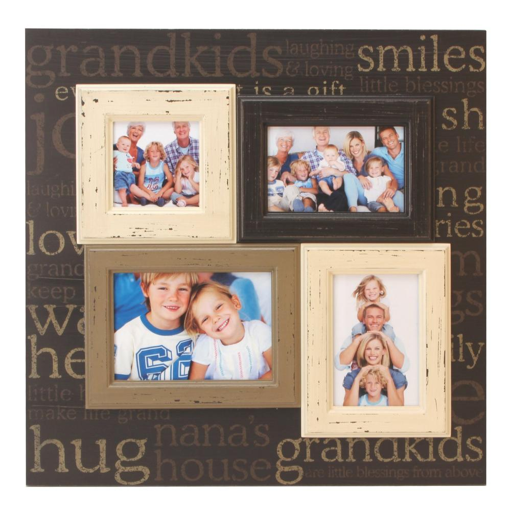 Grandkids Multi Aperture Collage Photo Frame
