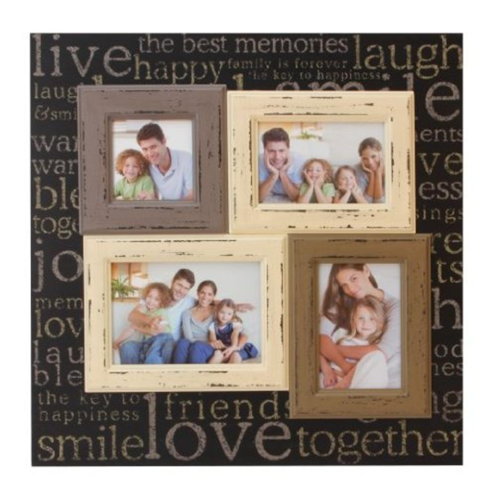 Live Laugh Love Multi Aperture Collage Photo Frame Gifts