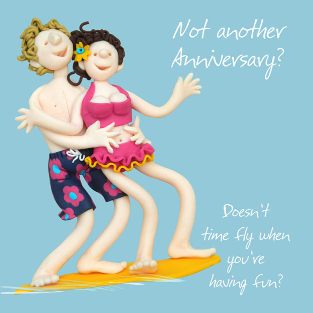 Not Another Anniversary Greeting Card One Lump or Two