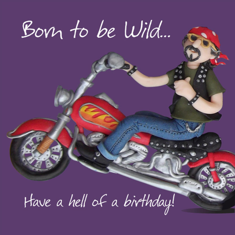 Have A Hell Of A Birthday Card One Lump or Two