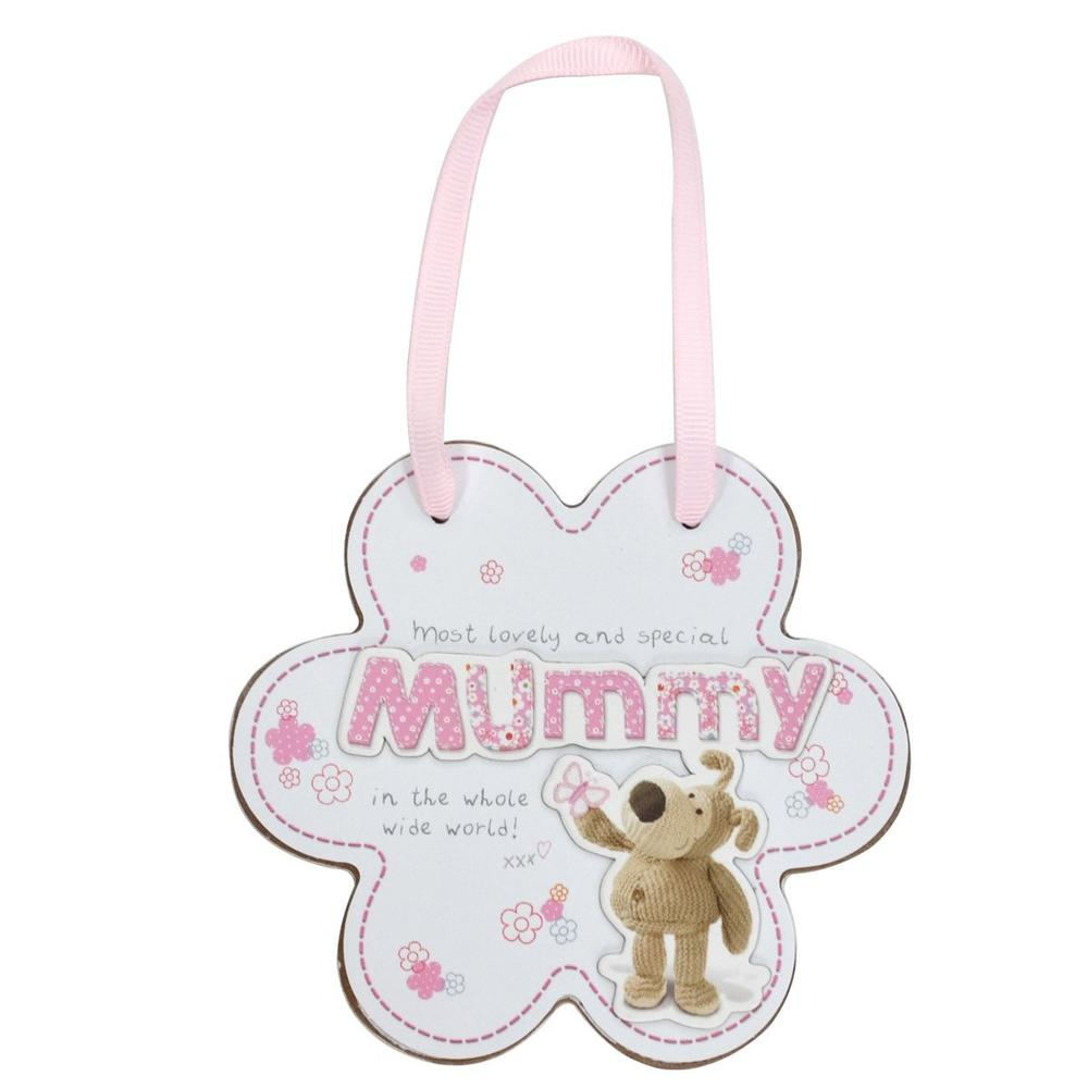 Boofle Special Mummy Wooden Plaque With Ribbon