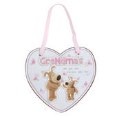 Boofle Precious Grandma Wooden Plaque With Ribbon