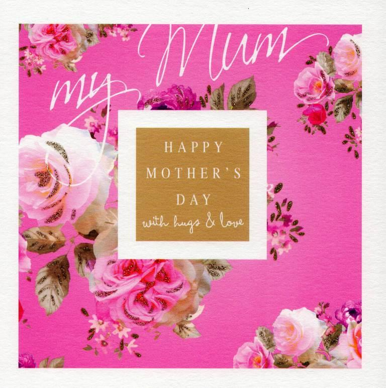 Stephanie rose pink roses happy mothers day greeting card cards stephanie rose pink roses happy mothers day greeting card m4hsunfo