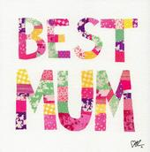 Kirstie Allsopp Best Mum Pretty Mother's Day Greeting Card
