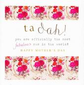 Stephanie Rose Ta Dah Fabulous Mum Mother's Day Greeting Card