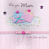 "For You Mum 8"" Square Happy Mother's Day Card"