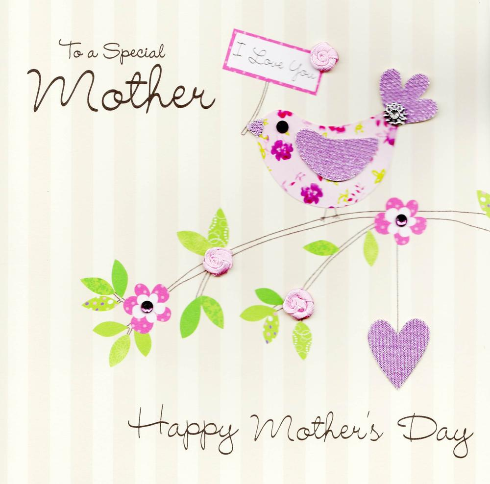 "Special Mother 8"" Square Happy Mother's Day Card"