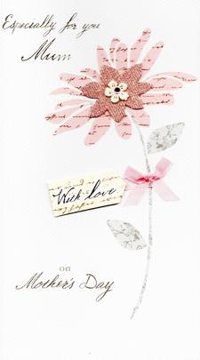 Especially For You Mum Champagne Mother's Day Card